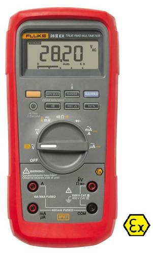 Fluke 28II-EX - Digital-Multimeter, Ex-sicher