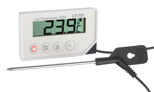5020-0572 - Labor Thermometer mit Alarmfunktion