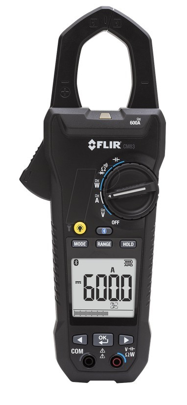 CM83 - Leistungs-Stromzangen-Multimeter mit VFD-Filter