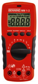 Benning MM1-3 - Digital-Multimeter Benning MM1-3