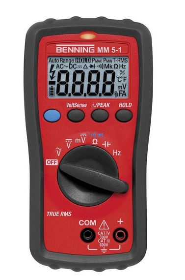 Benning MM 5-1 - Hand-Multimeter digital Benning MM 5-1