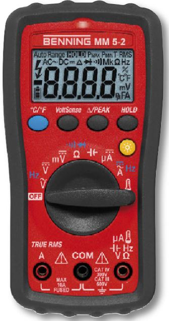 Benning MM 5-2 - Hand-Multimeter digital Benning MM 5-2