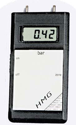 HMG-01-41 - Manometer, Bereich 0...10 bar