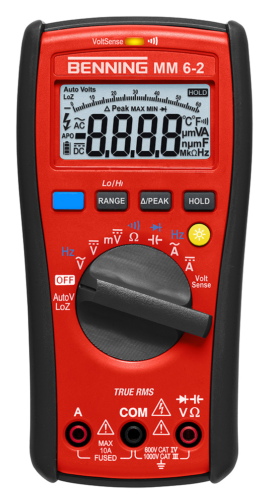 Benning MM 6-2 - Digital-Multimeter Benning MM 6-2